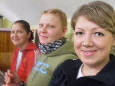 Девушки на программе реабилитации